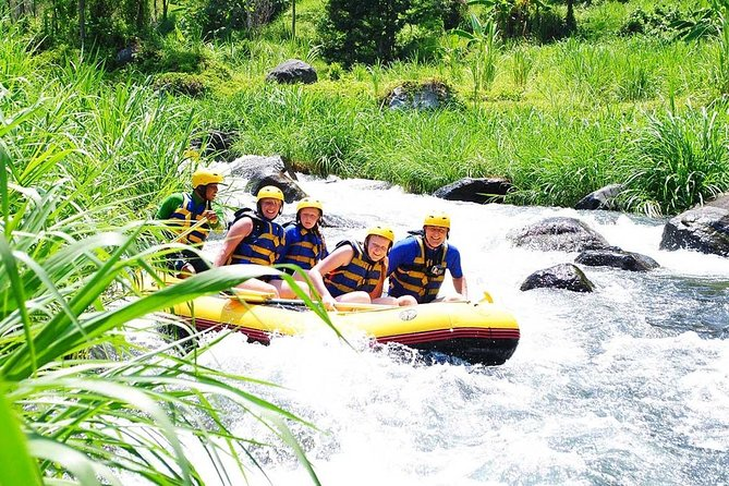 Telaga Waja Rafting and Besakih Temple, Kintamani Volcano Tour