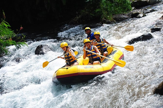 Telaga Waja Rafting and Shopping Tour Packages