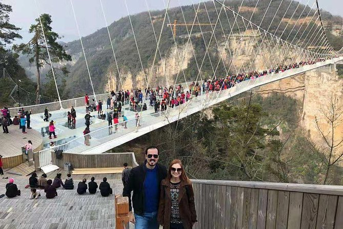 Zhangjiajie Day Trip of Grand Canyon, Glass Bridge, Baofeng Lake