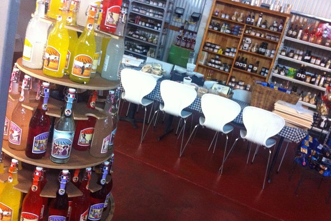 Browse our cheese cafe for our exclusive range of regionally made condiments.
