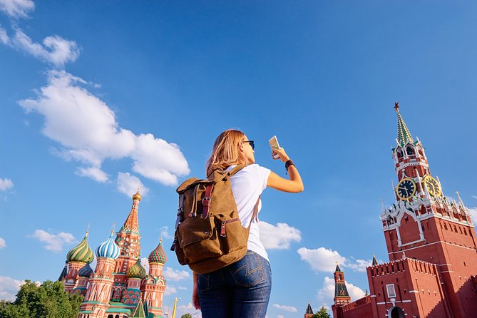 Red Square and Moscow center Highlights (+ St. Basil's Cathedral visit)