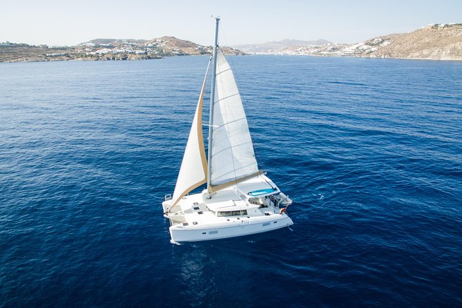 Mykonos Sailing | Lagoon 420 Catamaran | 8h Private Cruise