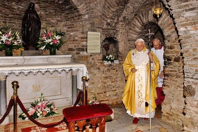 Pope 16. Benedictus at Virgin Mary's House