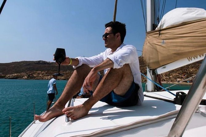 Mykonos Sailing | Lagoon 420 Catamaran | 5h Private Cruise