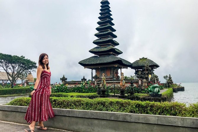 Lake Beratan Temple,Bali Handara Gate,Hidden Hill,Jati Luwih,Tanah Lot trip
