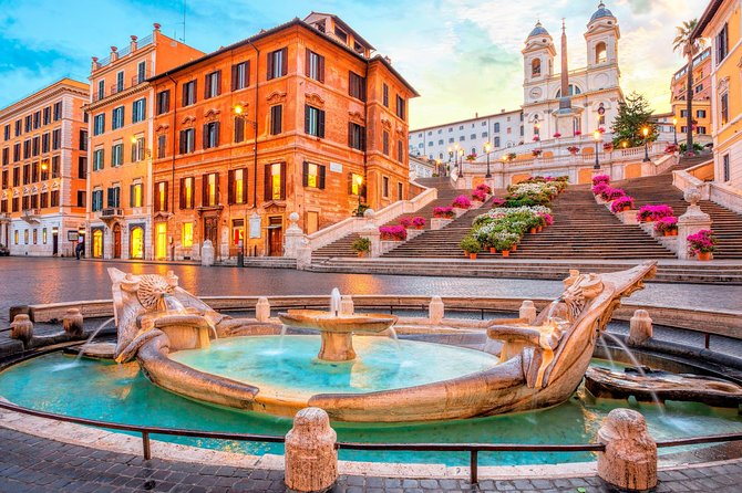 Rome Highlights | Walking Tour Squares and Fountains & Hop-on Hop-off open Bus