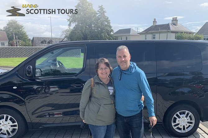 Private Luxury Shore Excursion Driving Tour to Stirling Six Hours Long