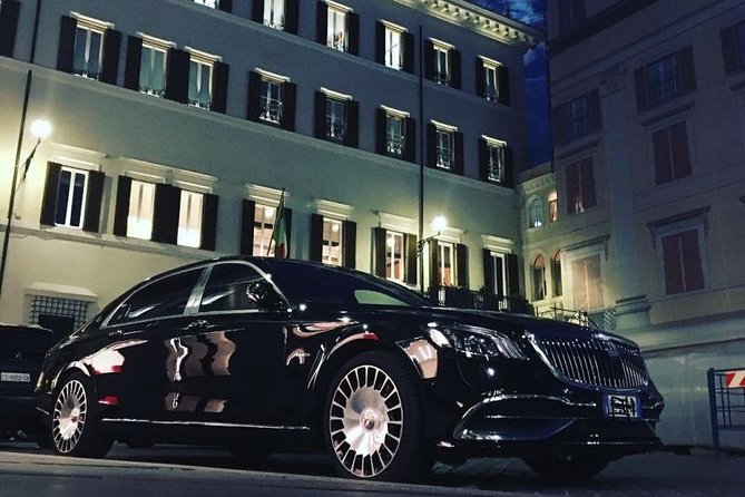 Private tour of Rome by night 3 hours with Mercedes Maybach S560 4 matic
