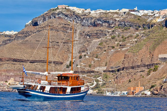 Santorini Volcano and Hot Springs Cruise from the Old Port of Fira
