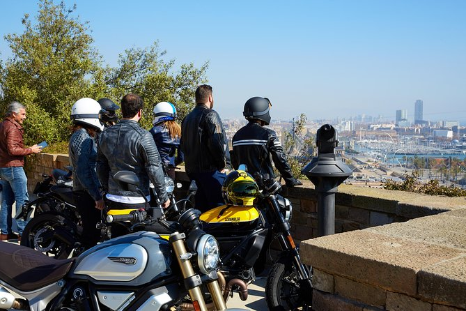 Motorcycle Tour Skyline Barcelona