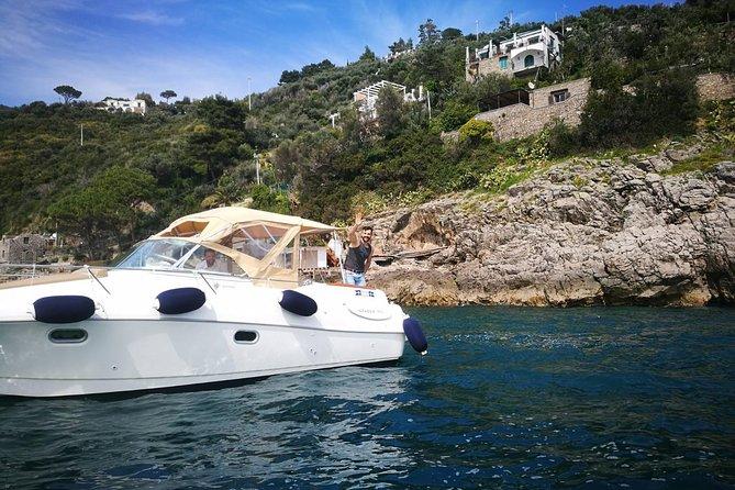 Amalfi Coast - Capri by boat (private boat tour Jeanneau Leader)
