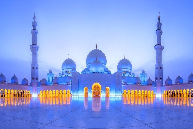 Full Day Abu Dhabi Tour with Louvre & Sheikh Zayed Mosque