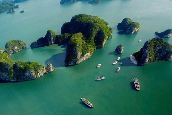 All-Inclusive: Halong Bay Full Day Trip with Ti Top Island, Surprising Cave