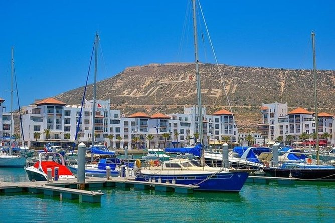 SailBoat in Agadir Bay