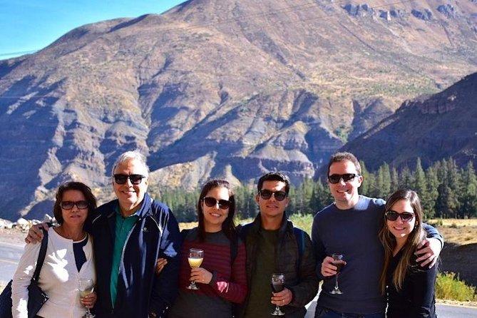 Private Tour: Cajon del Maipo + Cheese and Wine