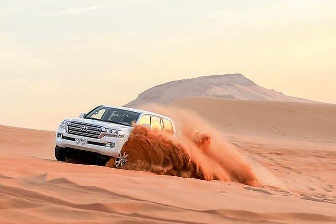 Dubai Desert Safari With Camel Ride, Horse Ride, Falcon Photography & Dinner