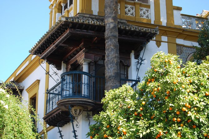 Private guided tour with official guide: Real Alcázar, Cathedral, Santa Cruz