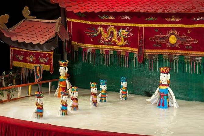 Shore Excursion: Water Puppet Show & Dinner from Ho Chi Minh Port