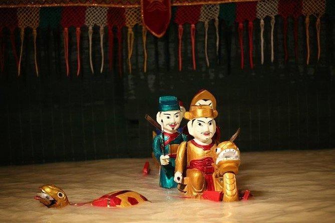 Vietnamese Water Puppet Show & Dinner Cruise