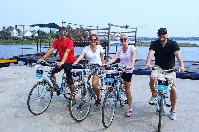 Exploring Local Life including Cycling and Lunch from Hoi An