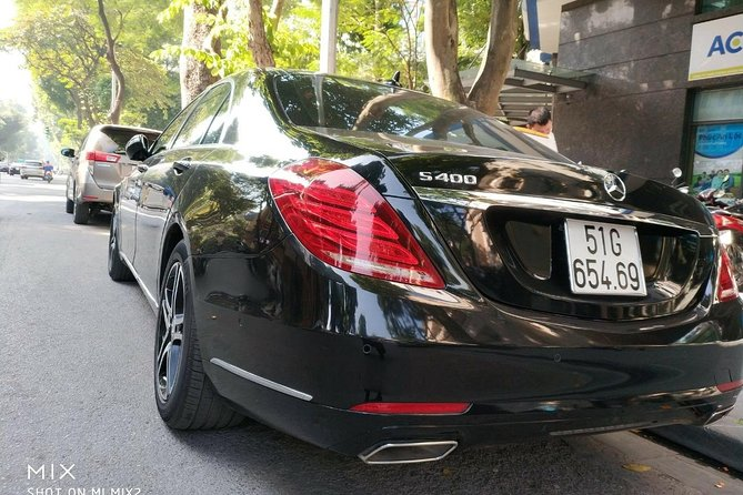 DAD Airport pick up to Danang City by Mercedes Benz S-Class