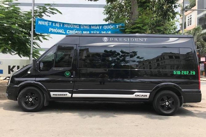 DAD Full Day 8hrs by Ford Transit Luxury Van ( Dcar Limousine )