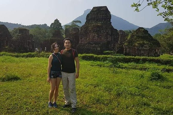 My Son Sanctuary Tour & Come Back by Private Boat from Hoi An or Da Nang city
