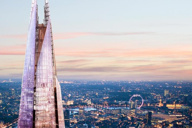 The View from The Shard Ticket in London