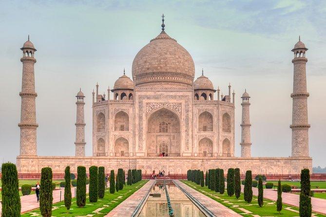 Taj Mahal Group Tour von Delhi
