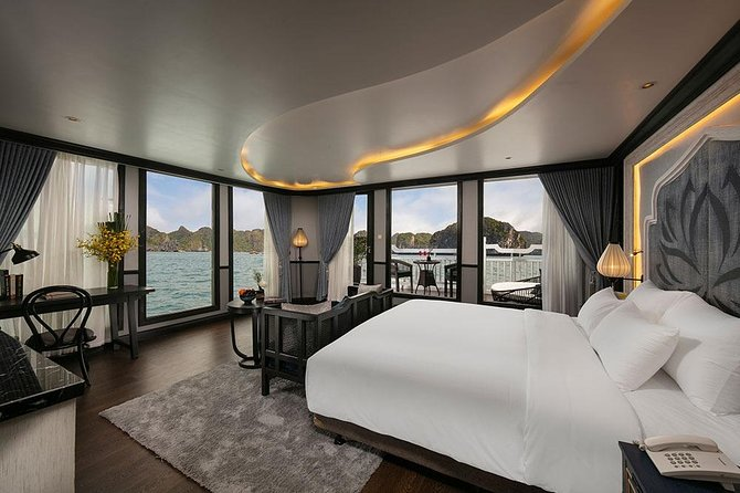 La Pinta Luxury Cruise 2D1N Private Balcony Cabin: Lan Ha Bay - Catba Island in
