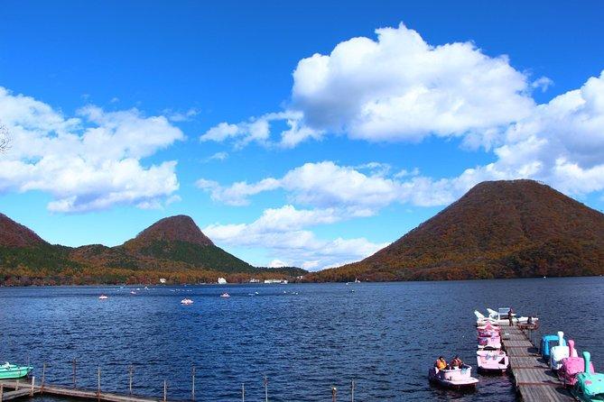 Hot Spring, Lake View & Konnyaku Park Private Tour