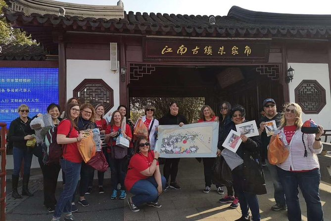 Zhujiajiao Ancient Town 5h Private Tour with Boat Ride