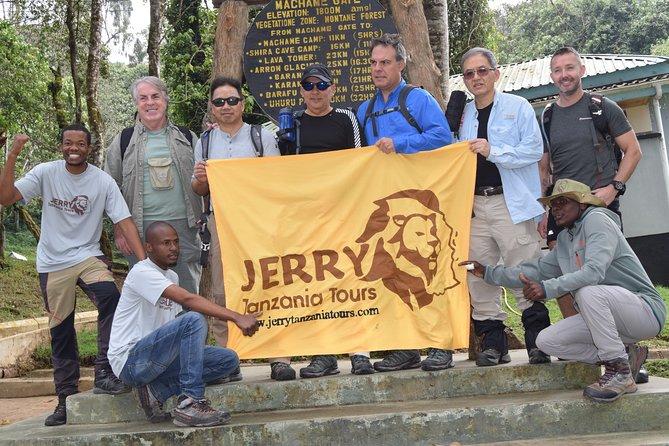 7 Days Machame Route itinerary (Mount Kilimanjaro)