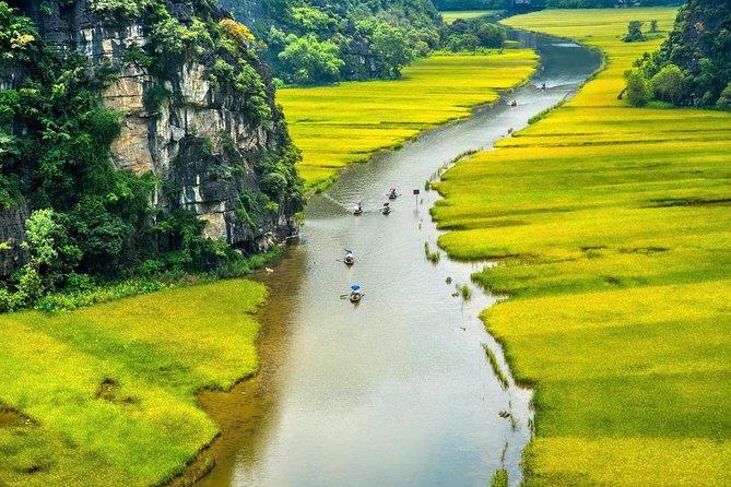 Ninh Binh - Hoa Lu - Mua Cave - Tam Coc - Cycling 1 Day Tour