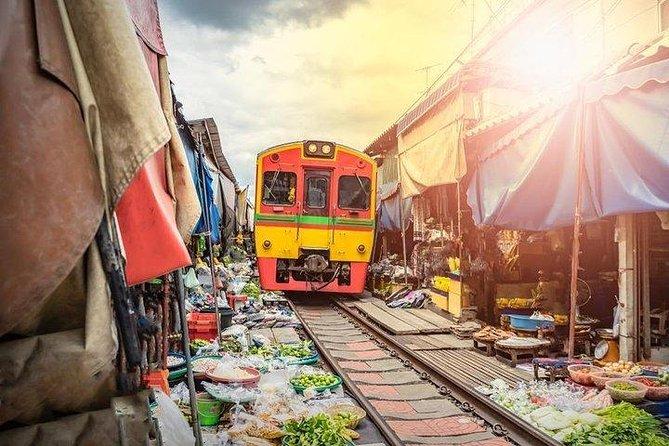 Bangkok Day Tour: Ayutthaya ,Maeklong Railway Market ,Floating Market