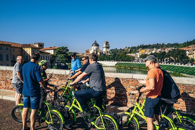 Verona E-Bike Tour with Wine Tasting