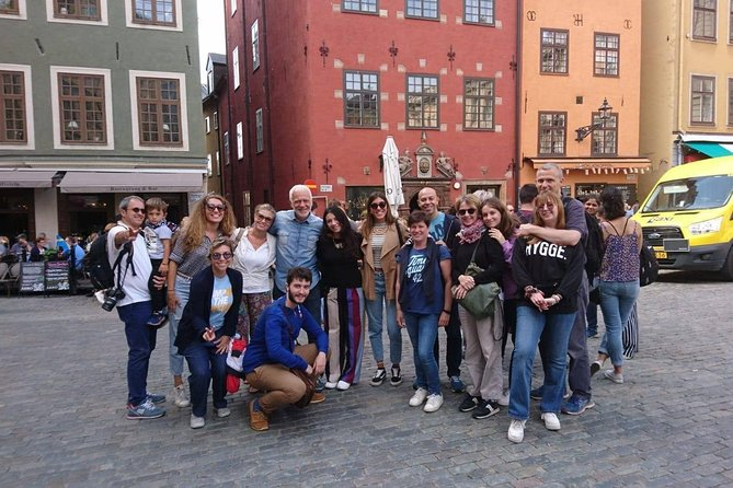Private walking tour Stockholm Old Town for group