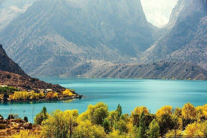From Dushanbe to Nurek Mountain Lake, 1 day tour