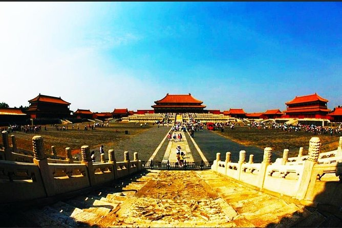 Forbidden city and Great Wall Layover tour