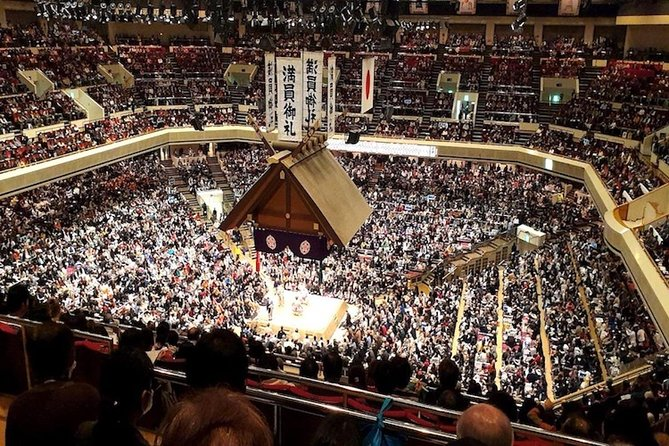Sumo Tournament Experience in Tokyo