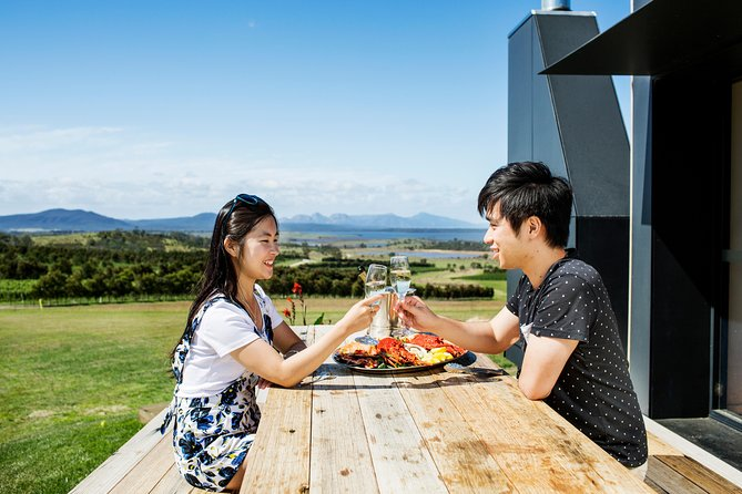 All Inclusive Wine Tour up the Derwent Valley Hobart: Local Wines & Cheeses