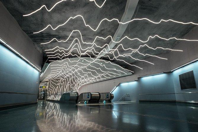 Underground Metro Art Ride with a Local