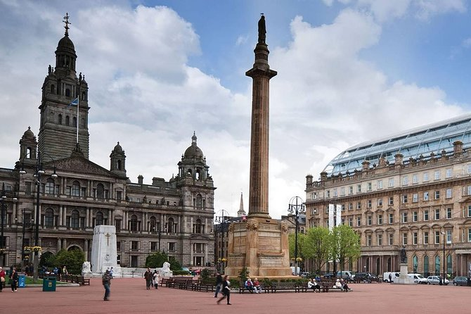 Discover Glasgow. Full day private tour in Mercedes Benz people carrier.