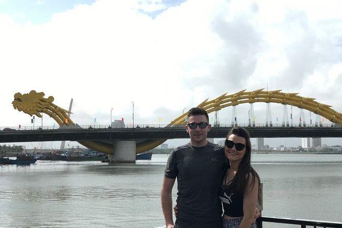 Check in at Dragon Bridge