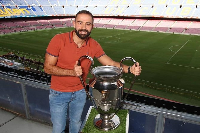 Camp Nou Official Tour : FC Brcelona Stadium & Museum with A Live Guide