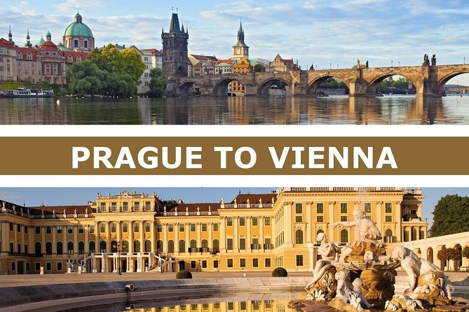 1-way Prague to Vienna - private transfer - Mercedes Benz - up to 8 persons photo 1