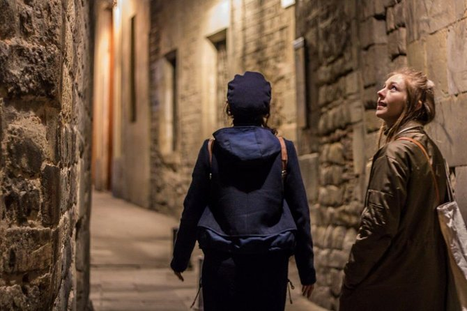 Walk On the Dark Side Of Barcelona Evening Group Tour