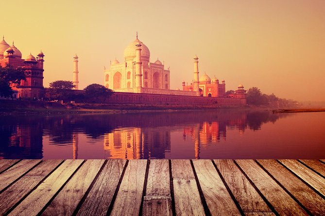 Taj Mahal Sunrise and Agra Fort Tour from Delhi : All Inclusive