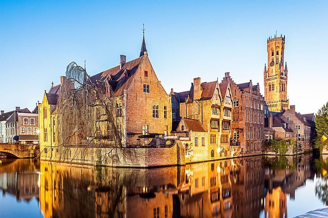 Medieval Bruges & Brussels: Belgium capital. Private day tour 8 p. = 245 e. each