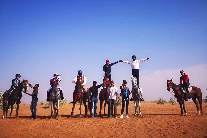 desert horse riding experience photo 5